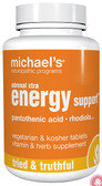 Adrenal Xtra Energy Support 90 Veggie Tabs, Michael's Naturopathic