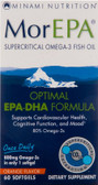 MorEPA Optimal EPA-DHA Formula Orange Flavor 60 sGels, Minami Nutrition