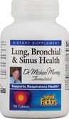 Lung Bronchial & Sinus Health 90 Tabs, Natural Factors