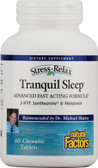 Stress-Relax Tranquil Sleep 60 Chewable Tabs, Natural Factors