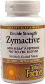 Zymactive Double Strength 90 Enteric Coated Tabs, Natural Factors
