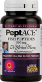 PeptACE Fish Peptides 500 mg 90 Caps, Natural Factors