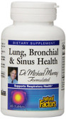 Lung Bronchial & Sinus Health 45 Tabs, Natural Factors