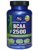 Natural Sport BCAA 2500 120 Veggie Caps, Natural Sport