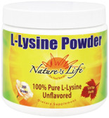 L-Lysine Powder Unflavored 200 g, Nature's Life