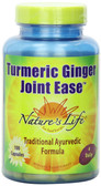 Turmeric Ginger Joint Ease 100 Caps, Nature's Life