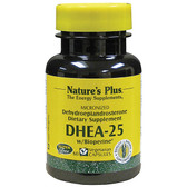 DHEA-25 with Bioperine 60 Veggie Caps, Nature's Plus