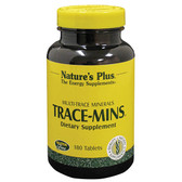 Trace-Mins 180 Tabs, Nature's Plus