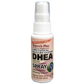 DHEA Spray Lipoceutical Delivery System Natural Wild Berry 2 oz (59.14 ml), Nature's Plus