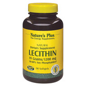 Lecithin 1200 mg 90 sGels, Nature's Plus