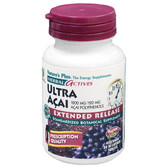 Herbal Actives Ultra Acai Extended Release 1200 mg 30 Bi-Layered Tabs, Nature's Plus