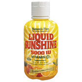 Liquid Sunshine Vitamin D3 Supplement Tropical Citrus Flavor 5000 IU 16 oz (473.18 ml), Nature's Plus