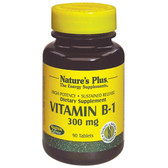 Vitamin B-1 300 mg 90 Tabs, Nature's Plus
