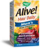 Alive! Men's Multi 90 Tabs, Nature's Way