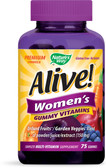 Alive! Women's Vitamins 75 Gummies, Nature's Way