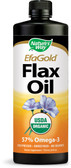 EFAGold Organic Flax Oil 24 oz (710 ml), Nature's Way