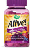 Alive! Calcium 60 Gummies, Nature's Way