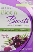 Biotin Bursts Brazilian Acai Berry 30 Soft Chews, Neocell