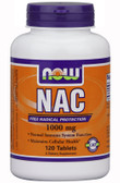 NAC 1000 mg 120 Tabs, Now Foods