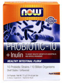 Probiotic-10 Unflavored 24Packets 2.54 oz (72 g) Each, Now Foods