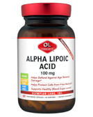 Alpha Lipoic Acid 100 mg 60 Veggie Caps, Olympian Labs