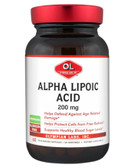 Alpha Lipoic Acid 200 mg 60 Veggie Caps, Olympian Labs
