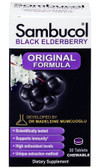 Black Elderberry Original Formula Immune System Support 30 Tabs Chewable, Sambucol