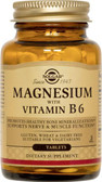 Magnesium with Vitamin B6 250Tabs, Solgar