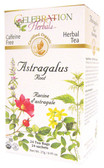 Astragalus Root Tea Organic 24 Tea Bags Celebration Herbals