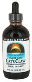 Cat's Claw Liquid Extract 4 oz (118.28 ml), Source Naturals