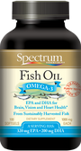 Fish Oil Omega-3 1000 mg 100 sGels, Spectrum Essentials