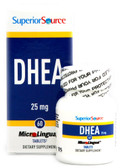 DHEA 25 mg 60 MicroLingual Instant Dissolve Tabs, Superior Source