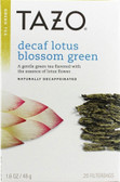 Decaf Lotus Blossom Green Tea 20 Filterbags 1.6 oz Tazo Teas