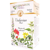 Valerian Root Tea Organic 24 Tea Bags Celebration Herbals