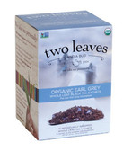 Organic Earl Grey Black Tea 15 Sachets 1.33 oz (37.5 g), Two Leaves and a Bud