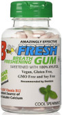 Breath Freshening Gum Cool Spearmint 100 Pieces, B-Fresh