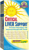 Critical Liver Support 90 Caps Renew Life, Cleansing, Antioxidant Liver Support