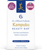 Essential Formulas Probiotic Kampuku Beauty Bar 2.82 oz (80 g), Dr. Ohhira's, Essential Formulas
