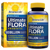 ULTIMATE Flora 50 Billion (14 Caps) Renew Life, Digestion