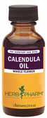 Calendula Oil 1 oz Herb Pharm, Sunburn, Bruises, Cuts, Acne