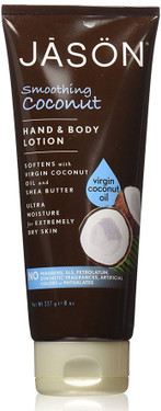 Hand & Body Lotion Smoothing Coconut 8 oz Jason Natural