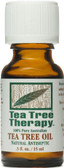 Tea Tree Therapy Pure Tea Tree Oil 0.5 oz, Tea Tree Therapy
