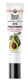 Renewing + Cooling Eye Treatment Avocado + Argan Oil 0.5 oz (15 ml), Nourish Organic