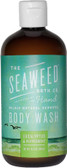 Wildly Natural Seaweed Body Wash Eucalyptus & Peppermint 12 oz (360 ml), Seaweed Bath Co