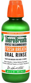 Fresh Breath Oral Rinse Mild Mint Flavor 16 oz TheraBreath