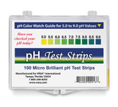 pH Test Strips 100Strips, Vaxa International