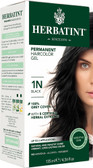 Herbatint Permanent Black 1N, Natural Hair Color