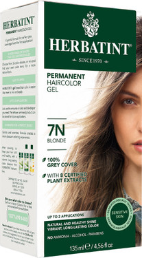 Herbatint Permanent Blonde 7N, Natural Hair Color