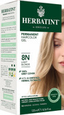 Herbatint Permanent Light Blonde 8N, Hair Color