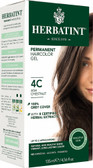 Herbatint Permanent Ash Chestnut 4C, Natural Hair Color